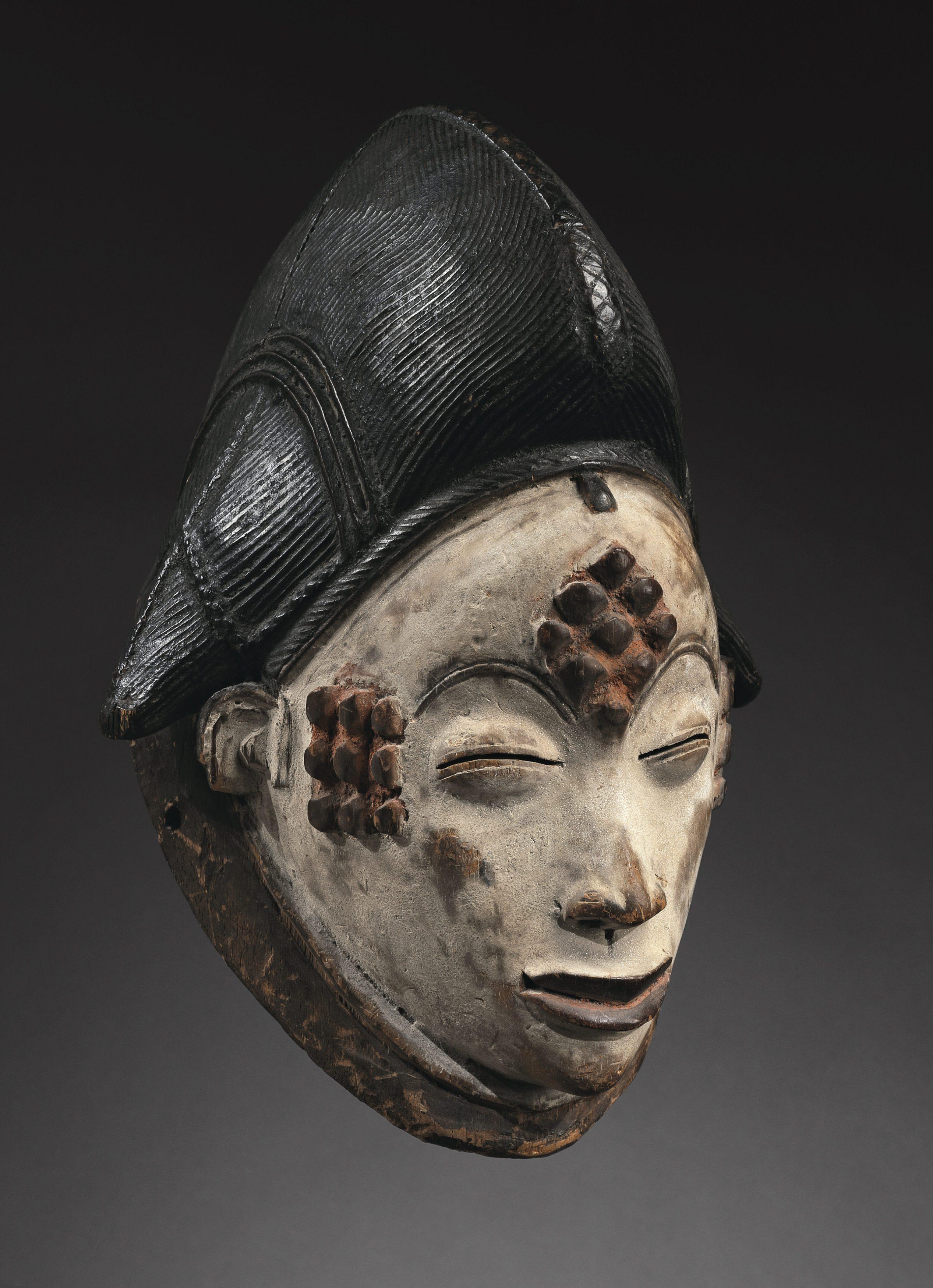 Mask Punu, Gabon 31 cm